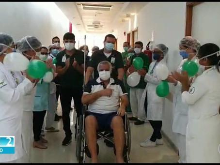 'Quero agradecer a todos pela minha segunda chance de vida', diz paciente curado do coro