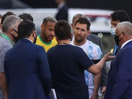 Jogadores argentinos devem deixar o Brasil e não serão investigados por descumprir lei sanitária