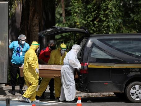 Brasil  chega a 7 mil mortos por coronavírus; veja números em 4 de maio
