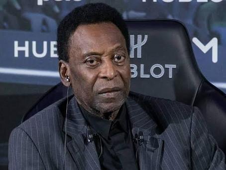 """Pelé fala sobre seu estado de saúde: """"é como se Deus estivesse pedindo a conta"""""""