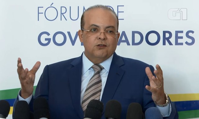 Governador do DF, Ibaneis Rocha, em imagem de arquivo — Foto: Reprodução/TV Globo