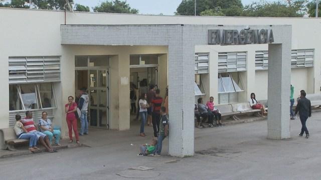 Fachada do Hospital Regional do Paranoá, no DF — Foto: TV Globo/Reprodução