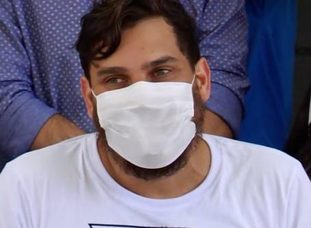 Cauan pede desculpas por vídeo em que ironiza o coronavírus: 'Ignorância que eu paguei caro'