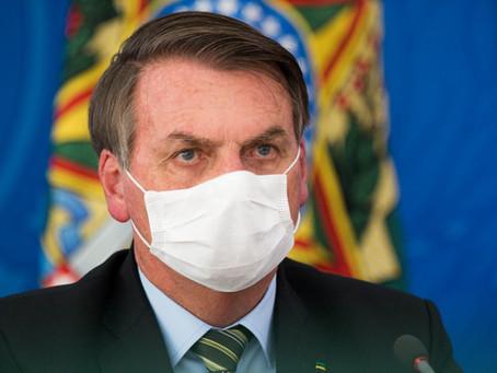 Câmara dá 30 dias para Bolsonaro apresentar resultados de exames para covid-19