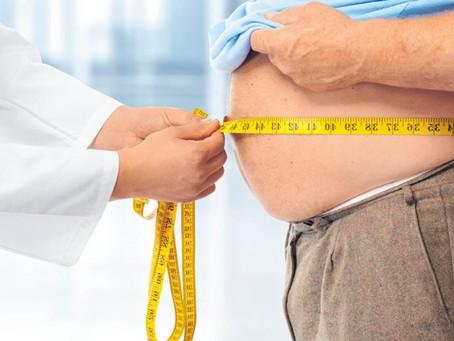 Estudo aponta que a obesidade aumenta risco de morte pela covid em até quatro vezes