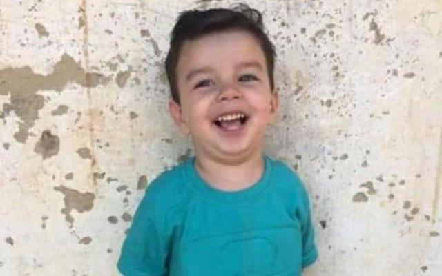 João Gabriel Borges da Silva, de 3 anos, foi picado por escorpião em casa — Foto: Arquivo pessoal