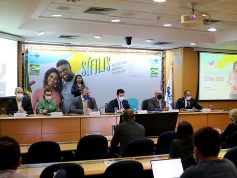Ministério da Saúde lança campanha de combate à sífilis
