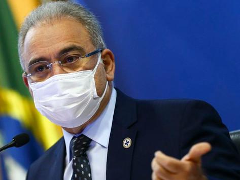 Queiroga compara máscara a camisinha: 'Diminui doenças, mas vou fazer lei pra obrigar o uso?'