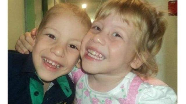 Raissa e Benjamin foram levados para adoção logo após o nascimento — Foto: BBC/Arquivo pessoal