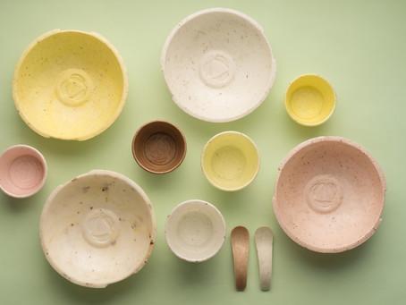 Milho e mandioca viram plástico sustentável e até comestível