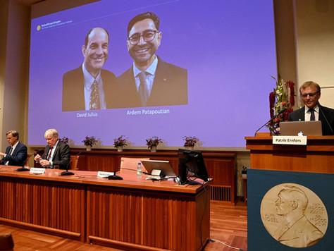 Nobel de Medicina: David Julius e Ardem Patapoutian vencem por descobertas sobre temperatura e toque