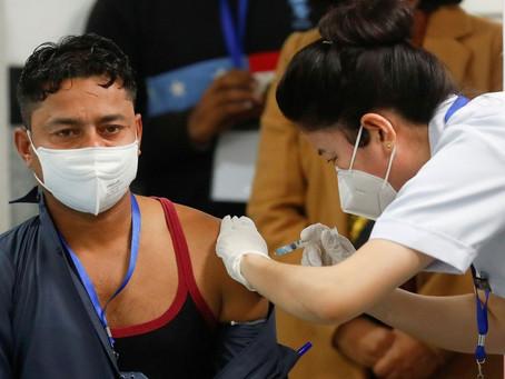 Índia começa campanha de vacinação contra a Covid-19