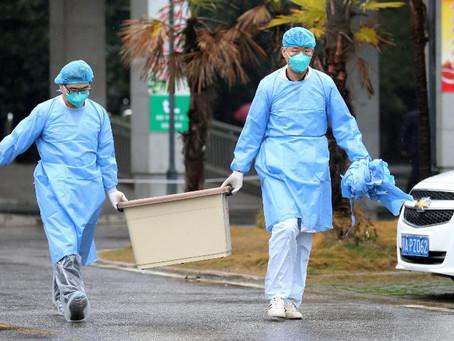 Cronologia da expansão do novo coronavírus descoberto na China