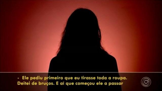 Mulheres denunciam dermatologista em Jundiaí — Foto: Reprodução/TV TEM