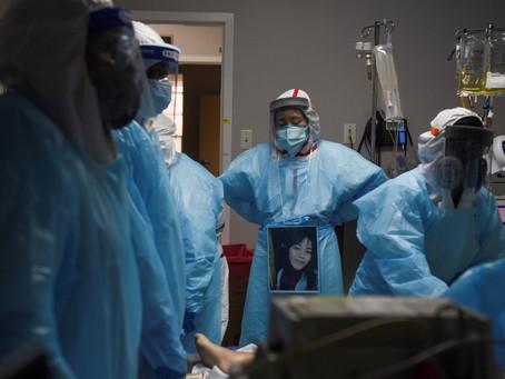 EUA têm mais de 4 mil mortes por Covid pela 1ª vez e bate recorde de vítimas pelo 3º dia seguido
