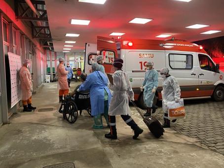 Covid-19: Hospital Universitário de Brasília recebe 15 pacientes vindos de Manaus