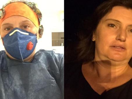 Técnica de enfermagem com Covid-19 morre em 'UTI improvisada' esperando por um leito em SC