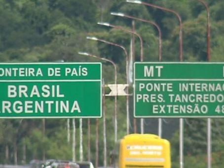 Brasil fecha fronteiras terrestres para entrada de estrangeiros vindos de países vizinhos da América