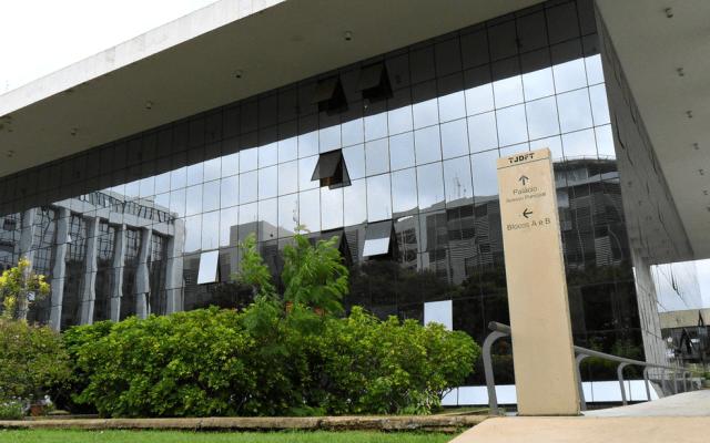 Fachada do Tribunal de Justiça do Distrito Federal — Foto: Raquel Morais/G1