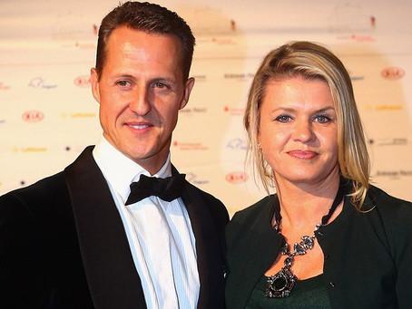 """Esposa fala sobre a saúde de Schumacher e abre o jogo: """"Sinto falta dele"""""""