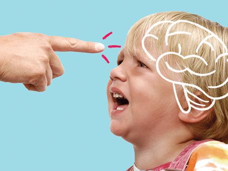Criação severa mexe com o cérebro das crianças
