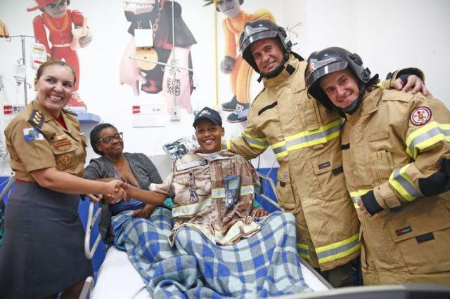 fotos de divulgação da Secretaria de Estado de Saúde (SES) para matéria de Alana Gandra no flash