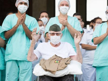 Coronavírus: 55% dos pacientes brasileiros estão curados
