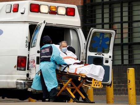 Com hospitais lotados, ambulâncias de Los Angeles não transportarão pacientes muito graves