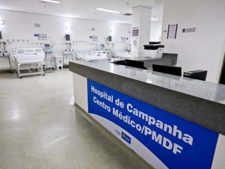 Saúde do DF vai contratar empresa para administrar hospitais de campanha