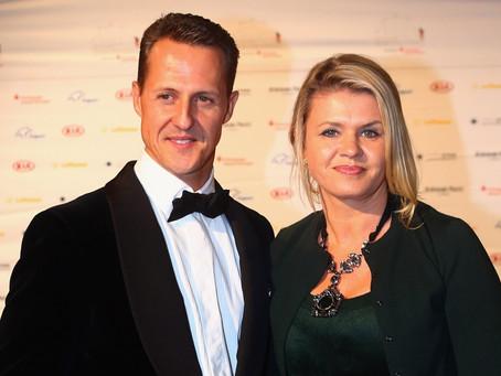 Esposa de Schumacher revela novos detalhes do estado de saúde do ex-piloto