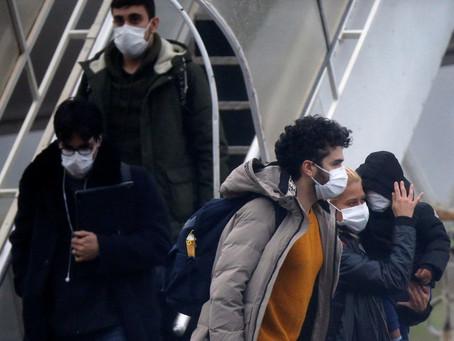 Secretaria de Saúde de Goiás colhe secreções dos repatriados e da tripulação que viajou à China