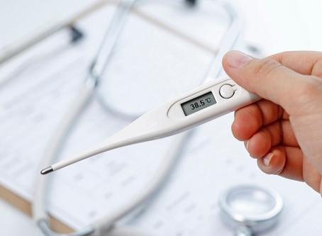 Em estágios iniciais da covid-19, febre pode ser aliada contra a doença