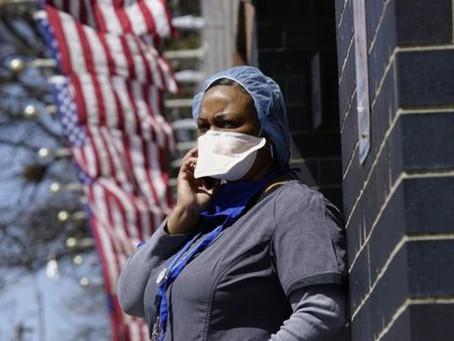 EUA registram quase 4.491 mortes por coronavírus em 24 horas