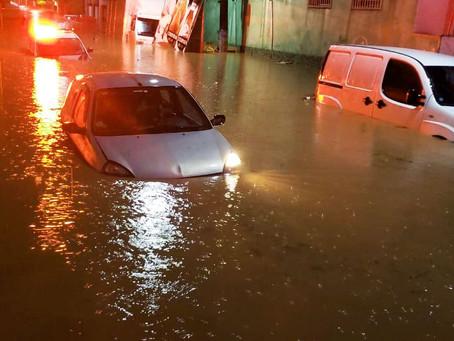Chuvas e enchentes aumentam o risco de transmissão de doenças