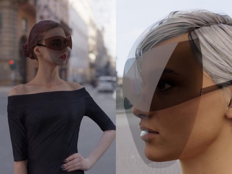 Designer cria máscara com óculos de sol acoplado contra coronavírus