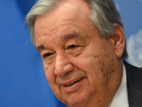 ONU não tem como exigir comprovante de vacina de chefes de Estado, diz secretário-geral