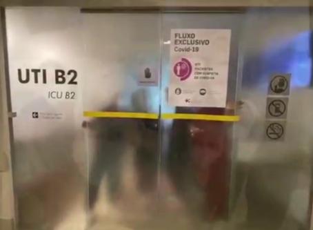 VÍDEO: Com baixa demanda, Hospital Santa Lúcia fecha alas de covid-19