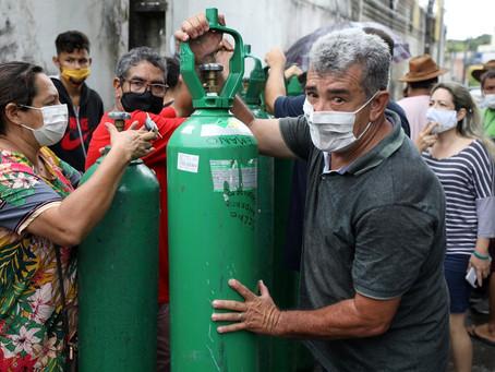 Saúde do AM afirmou, em novembro, que oxigênio contratado era insuficiente para demanda