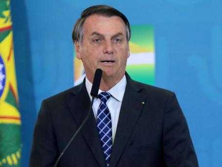 Bolsonaro sanciona lei para enfrentamento do novo coronavírus