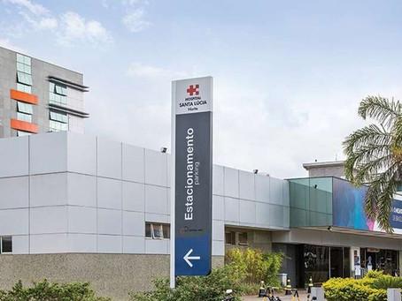 Hospital Santa Lúcia descarta suspeita de coronavírus em paciente internado