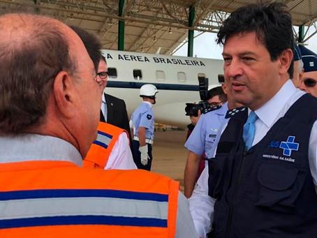 Saúde e Defesa visitam local que receberá brasileiros vindos da China