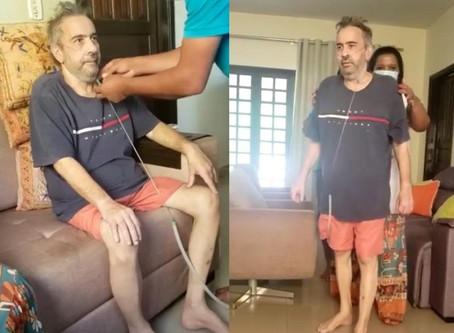Médico que ficou em UTI com Covid-19 rifa celular para quitar dívida de R$ 180 mil em hospital