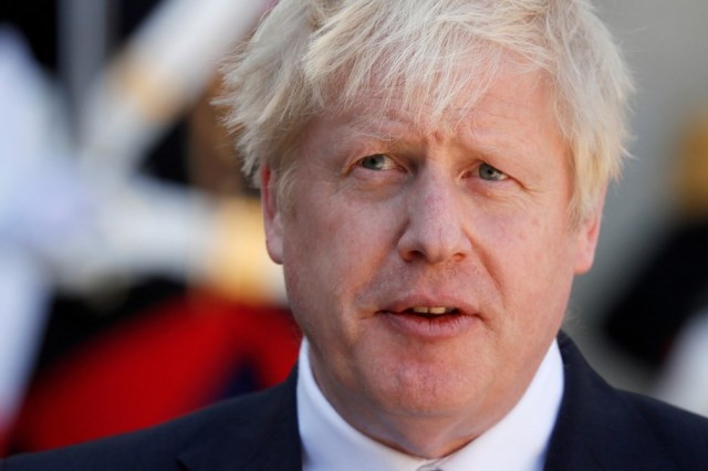Boris Johnson — Foto: REUTERS/Gonzalo Fuentes