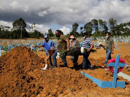 Manaus registra 213 enterros em 24 horas e bate novo recorde