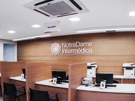 Notredame Intermédica compra Hospital em Curitiba por R$ 48,5 milhões