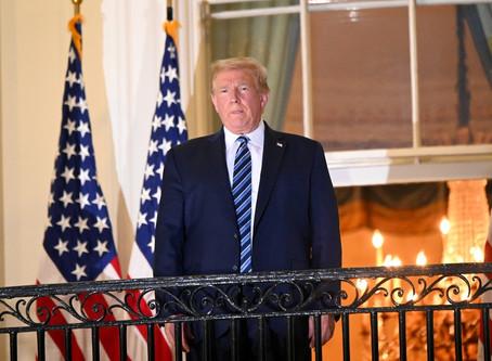 Trump 'respondeu bem' a tratamento contra Covid-19 e poderá retomar compromissos públicos no sábado
