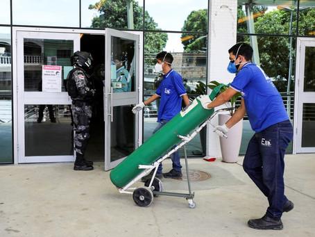 Médicos e familiares de pacientes descrevem colapso com falta de oxigênio em Manaus