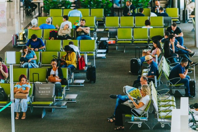 Aeroporto de Brasília estima movimento entre 1,5 milhão a 1,6 de passageiros — Foto: Divulgação/Aeroporto de Brasília