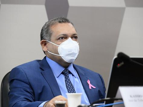 Ministro Nunes Marques, do STF, é diagnosticado com Covid-19