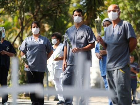 Brasil ultrapassa marca de 5 mil mortes por coronavírus, superando a China